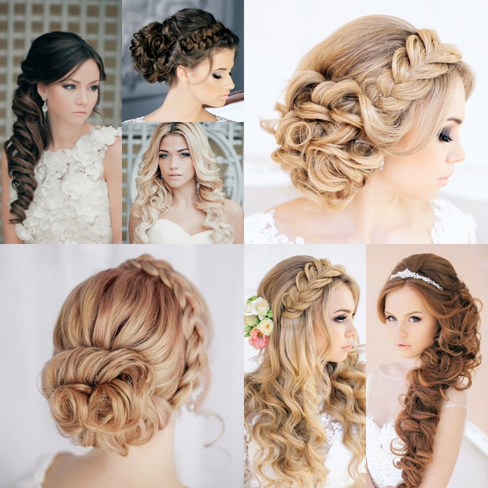 Groovy 5 Trendy Hairstyles For Brides Indian Wedding Planning Wedding Hairstyles For Women Draintrainus