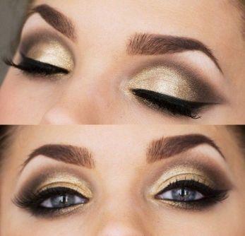 Almon Eyes makeup