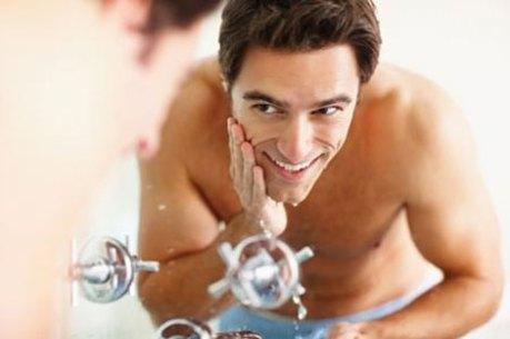 Cleansing Exfoliating man