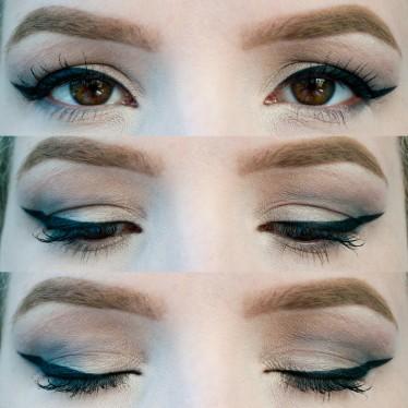 Downturne Eyes makeup