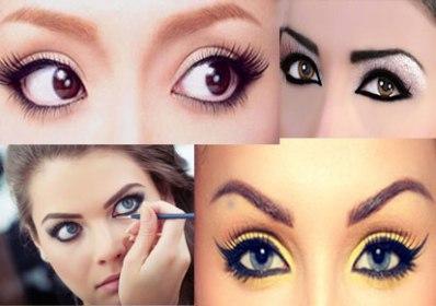 Protrudin Eyes makeup