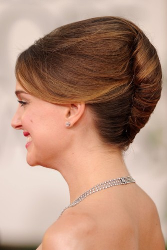 The French Twist hairstyle