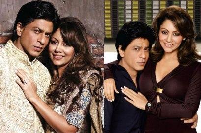 Shahrukh Khan and Gauri Chhibber